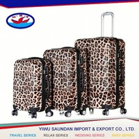Yiwu saundan company bags,hard shell luggage for primark,wheels luggage with 20 24 28 inch
