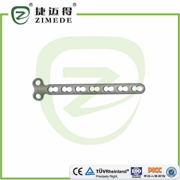 Phalanx locking plate T type orthopedic implants manufacturer