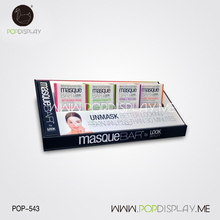 Eco Friendly Paper Cardboard Cosmetic Makeup Counter Display