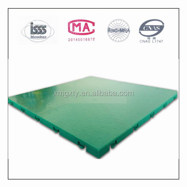 Environmental protection factory supplies outdoor basketball court suspended floor mat assembled plastic floor