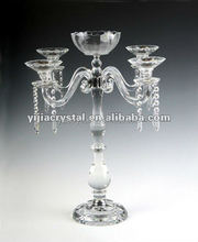 70cm bulk wedding table centerpiece 5 arms crystal candleabra