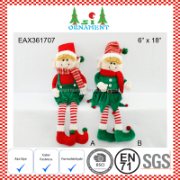 Christmas sitting elf toy