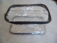 Vinyl PVC Bag with Cover and Handle