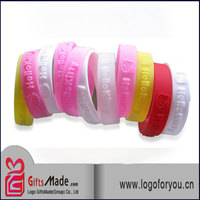 High quality silicone wrist band