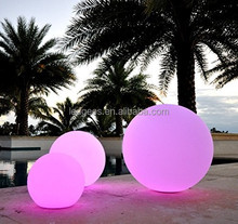 Outdoor lighting led floating pool ball
