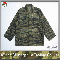 Tiger Stripe Camouflage Military BDU Combat Suit