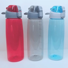 1 Litre BPA Free Tritan Plastic Sports Water Bottle with handle