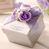 Square Weeding Favor Candy Box Bride and Groom Candy Box