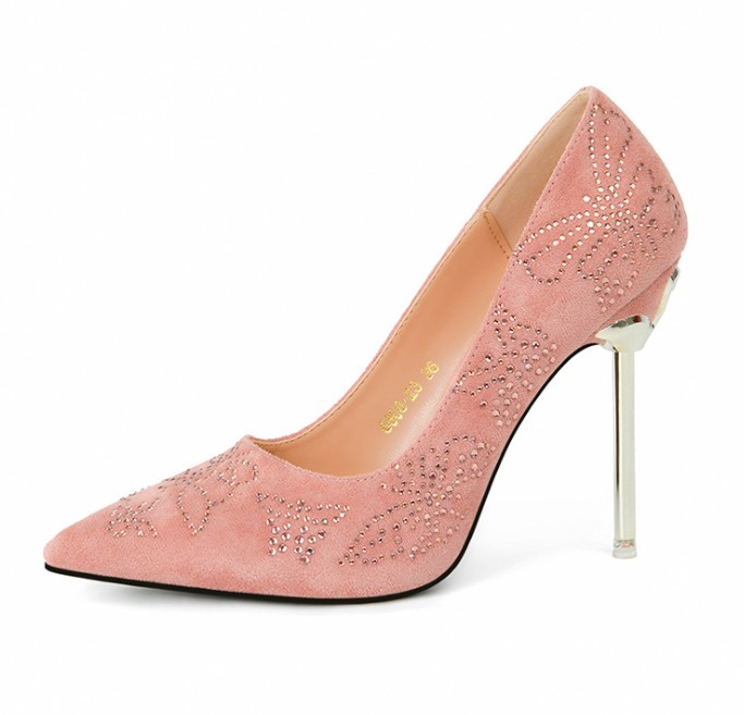 UP-0332J Ladies high heel office shoes fashion shoes for women