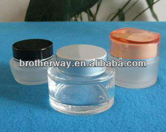 Cosmetic Glass Jar,eye Metal/Plastic Lid