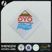 wholesale garment woven label/tag/ Washing Care Garment Woven Label