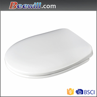 uk ce certificate good quality toilet, two piece stainless steel hinge toilet seat cover