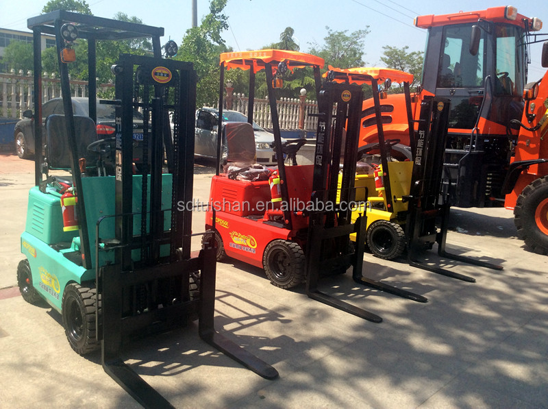 0.5 Ton Mini Electric Forklift With 4 Wheels Widely Used In Many Places CPD 500