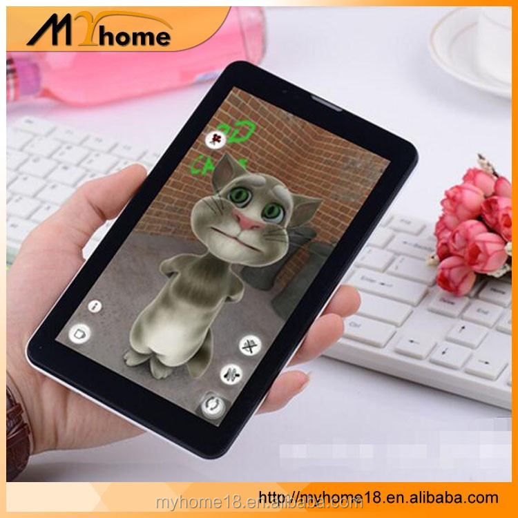Wholesale 7 Inch Touch Screen Android Tablet PC 4GB ROM Quad core RAM 512M with wifi,Dual 3G sim card slot, supprot OEM/ODM