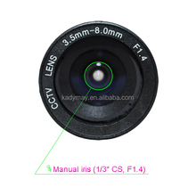 Manufacturer Supply cctv accesorries optical lens