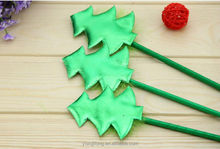 2014 new novel plastic lovely christmas tree design ball point pen good for promotion