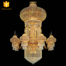 Alibaba com big banquet hall mosque brass chandelier lighting 62069