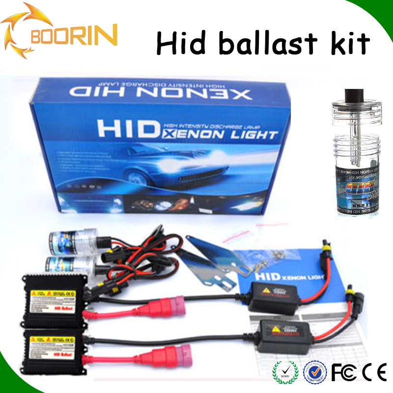 New arrive HID KIT bulbs 35w/55w ballast white yellow blue purple h1 h3 h4 h7 xenon motorcycle hid projector hid lights for cars
