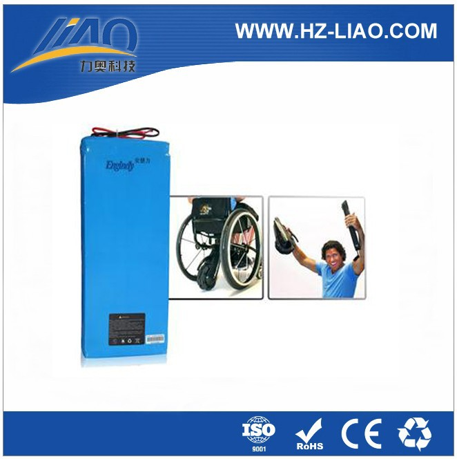 LIAO Lithium Rechargable LiFePO4 Battery Pack DC 24V 10AH
