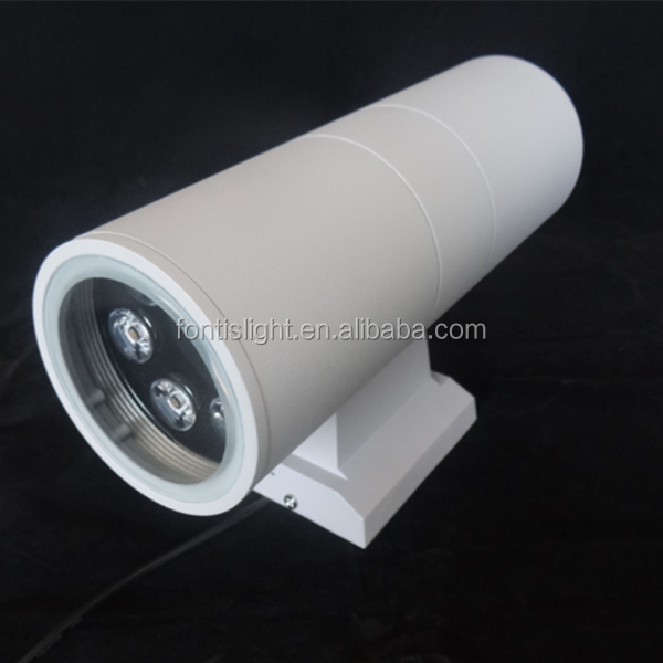 6w Surface Mounting Decorative Led Wall Lights Aluminum Material Outdoor Lamp Ip65