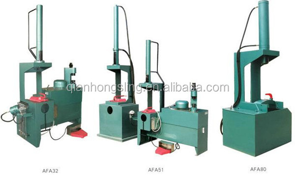 Qianhong 350t high pressure Hydraulic Double Loop Wire Machine