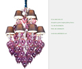 Guzhen Modern Crystal Chandellier for Hotel Decoration pendant lamp