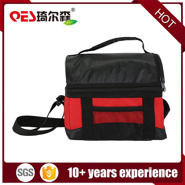 OEM PEVA material beer wine can cooling bottle storage outdoor picnic lunch bags wholesale cooler bag insulated
