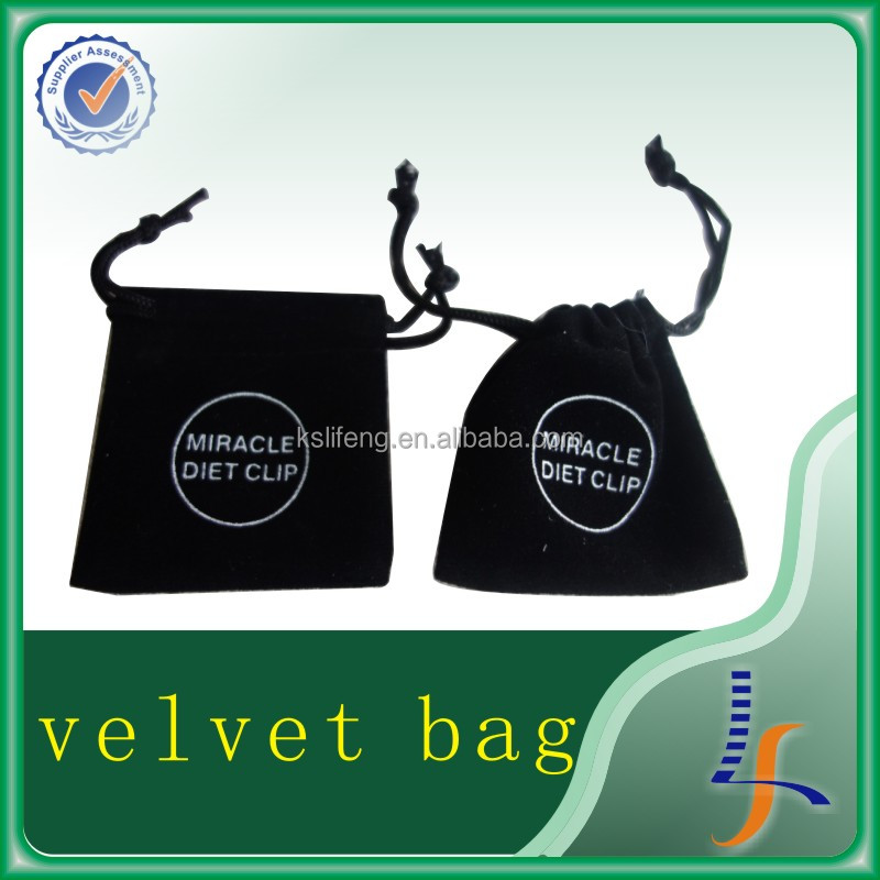 new products free sample bag hanger velvet bag