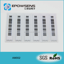HOT Garment accessories AM Label Printing Anti-Theft Eas Soft Label ( AM002 )