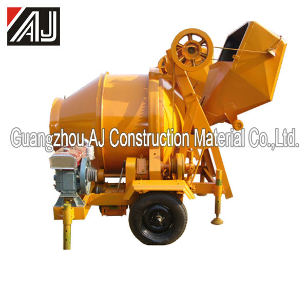 Hot Selling!!! JZG350 Diesel Engine Forced Type Concrete Mixer with 560L Charging Capacity