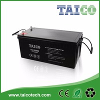 12V 200AH VRLA Battery/Deep Cycle Design with AGM for Power Tools/Vacuum Cleaners/Solar Systems