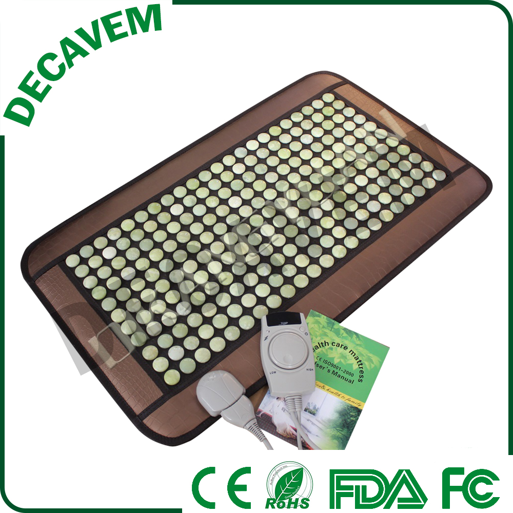 infrared heating physical therapy hot stone jade mats
