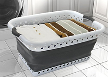 easy life silicone collapsible laundry basket
