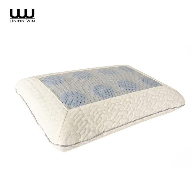 Slow Rebound Pillow Memory Foam Cooling Gel Pillow and Removable Case Cover
