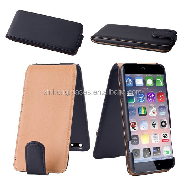 For iphone 6 flip leather case with plastic waterproof case,case for iphone 6