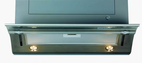 kitchen slide glass cooker hood