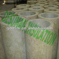 Rock wool blanket roll pipe insulation cladding