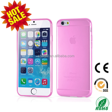 ultra thin tpu mobile phone cover for iphone6 case, tpu cell phone cover