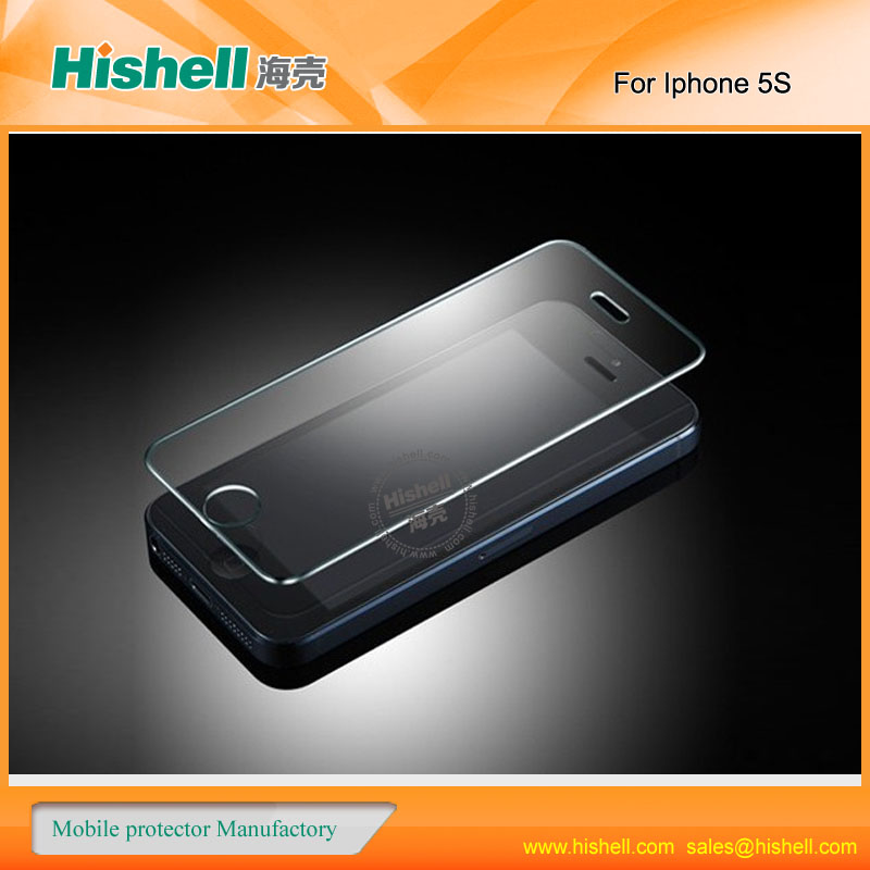 high end tempered glass touch screen protective film for iphone 5 | 5g |5s
