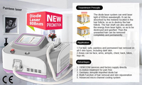 Mini 808nm Diode professional laser hair removal machine for home use DO-808P