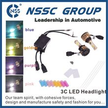 H4 50W CREE LED Headlight High/Low COB 5600LM Xenon White 6000K 12/24V Car Truck Universal