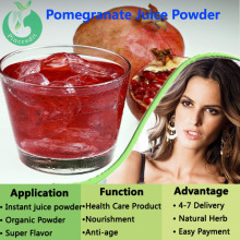 Pure Organic Pomegranate Juice powder High quality low price organic pomegranate seed extract powder
