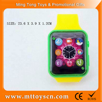 wholesale kid plastic colorful watches cheap toy from china