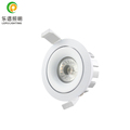 8w 0-100% dimmable commercial recessed led cob downlight with 83mm hole ip44 classical design for europe market