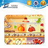 Household dialy promotion gift rectangular plastic food tray