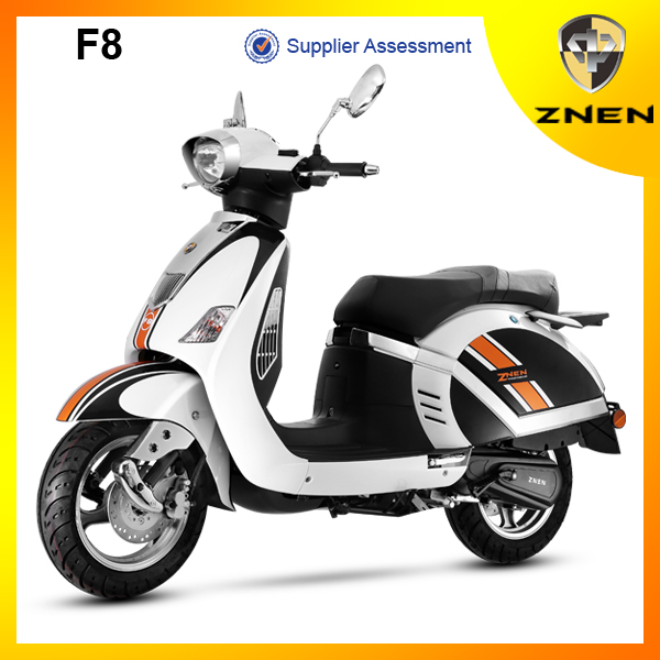 Chinese best 50cc gasoline scooter EEC, EPA, DOT approved motor scooter for wholesale