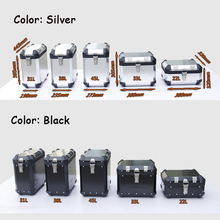 Aluminium Alloy 32L 36L Motorcycle Cargo Box Side box Pannier/ Motorcycle accessories