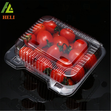 High quality clear transparent plastic chocolate strawberry box