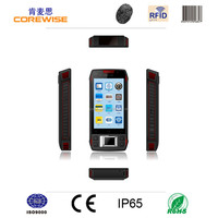 android pda 13.56Mhz rfid reader with GPRS/WiFi/Bluetooth/3G/GPS/camera ,1d/2d barcode free fingerprint time attendance software
