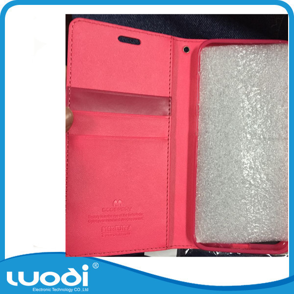 Several color pu leather wallet filp case for samsung s8 Replacement